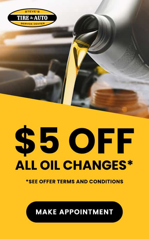 Oil Change Coupon Steve's